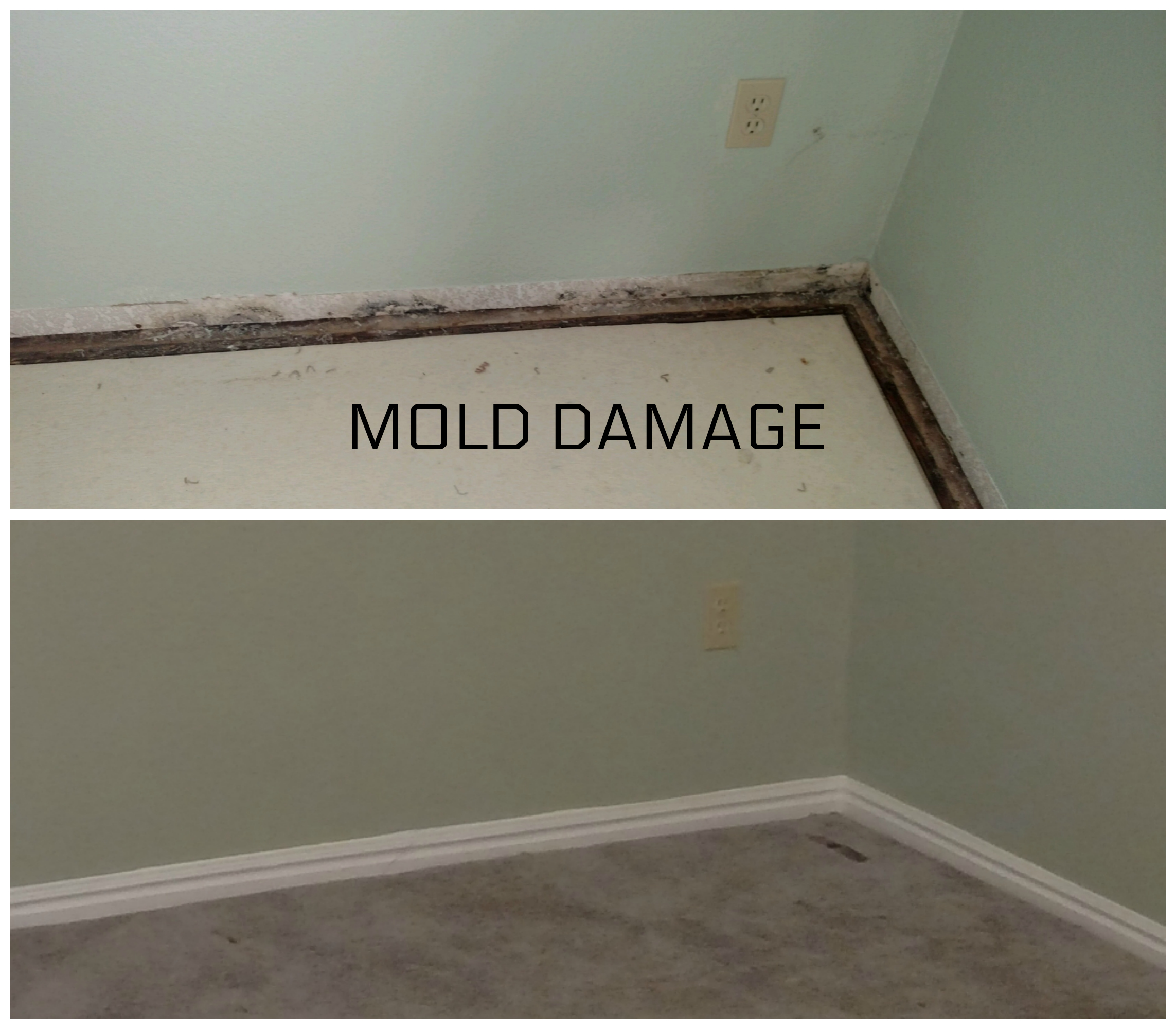 A Lot Of Water Damage Is Unseen If Left Untreated It Can Be Costly Repair Anytime Moisture Sits The Possibility Mold An Issue