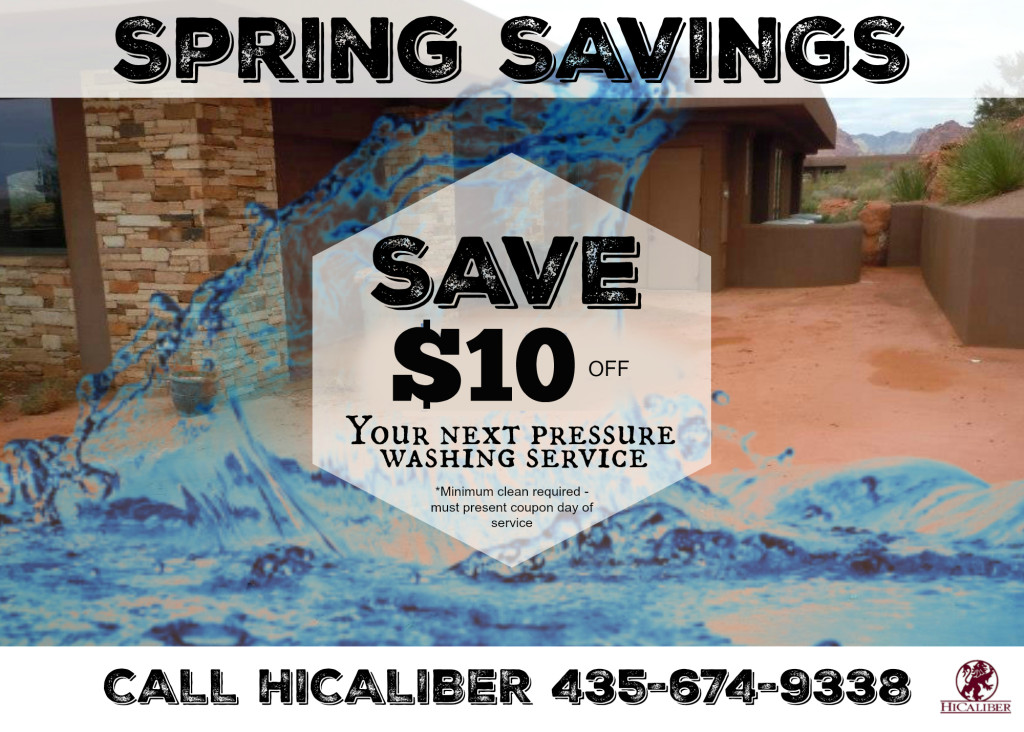pressure wash savings